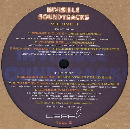 REEL 2 - Invisible Soundtracks Volume II (REEL 2)